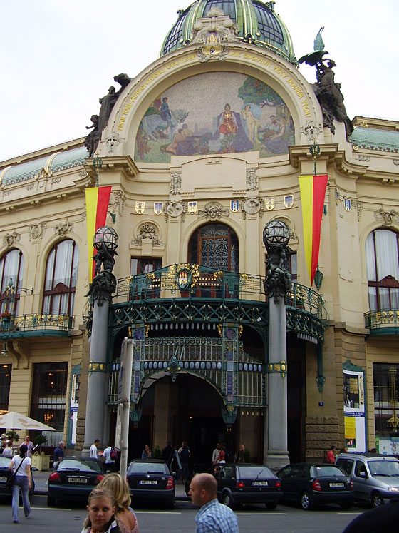 Art Nouveau Tour of Prague