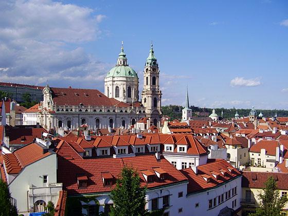 Lesser Town in Prague
