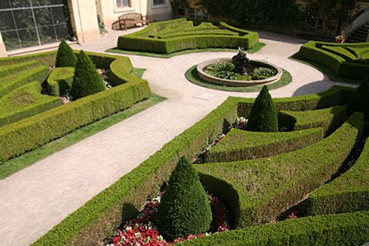 Vrtba Garden in Prague